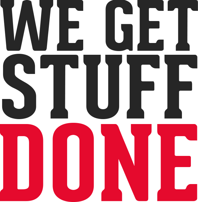 We Get Stuff Done